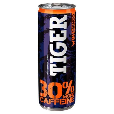 TIGER Win Gazowany napój energetyzujący o smaku mango (1)