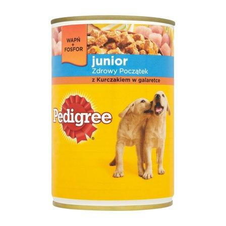 PEDIGREE Junior z kurczakiem w galaretce Karma dla psa pełnoporcjowa (1)