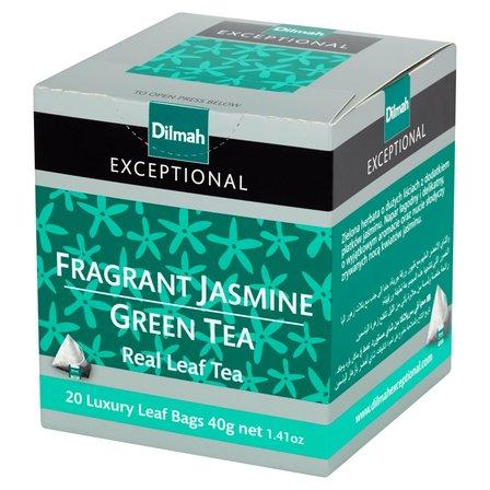 DILMAH Exceptional Zielona herbata z kwiatami jaśminu (20 tb.) (1)