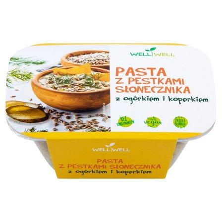 WELL WELL Pasta z pestkami słonecznika z ogórkiem i koperkiem (1)