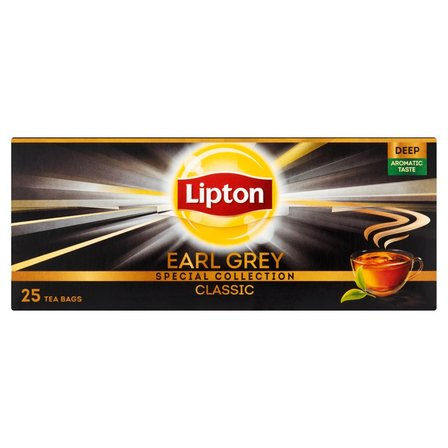 LIPTON Earl Grey Classic Herbata czarna (25 tb.) (2)