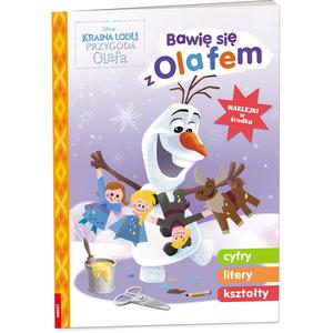 AMEET Kraina lodu. Przygoda Olafa. Bawię się z Olafem (okładka miękka) (1)