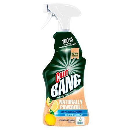 CILLIT Bang Naturally Powerful Spray do czyszczenia łazienki (1)