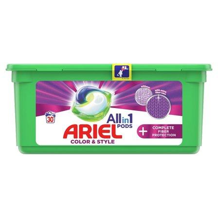 Ariel Allin1 PODS +Fiber Care Protection Kapsułki do prania, 30prań (1)