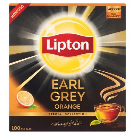 LIPTON Earl Grey Orange Herbata czarna aromatyzowana (100 tb.) (2)