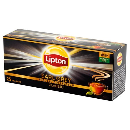 LIPTON Earl Grey Classic Herbata czarna (25 tb.) (1)