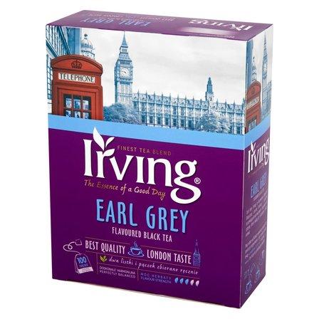 IRVING Earl Grey Herbata czarna aromatyzowana (100 tb.) (1)
