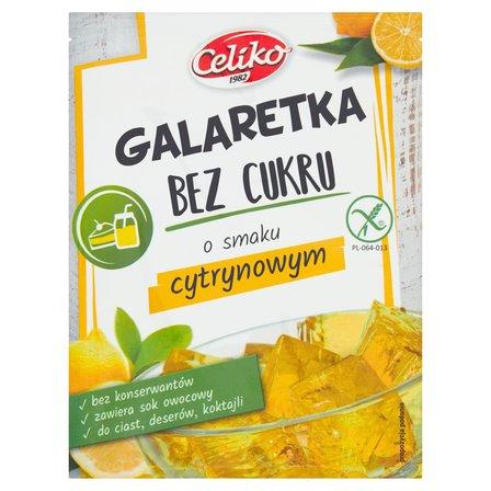 Celiko Galaretka bez cukru o smaku cytrynowym 14 g (1)