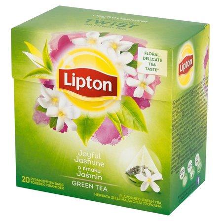 LIPTON o smaku Jaśmin Herbata zielona aromatyzowana (20 tb.) (1)