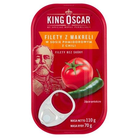 KING OSCAR Filety z makreli w sosie pomidorowym z chili (2)