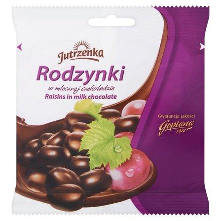 JUTRZENKA Rodzynki w mlecznej czekoladzie (1)