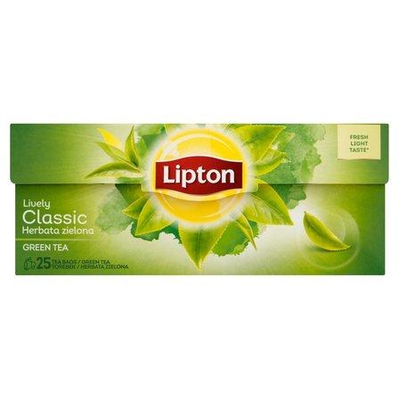 LIPTON Classic Herbata zielona (25 tb.) (2)