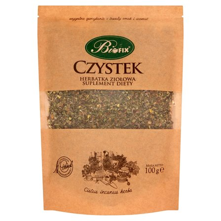 BIFIX Czystek Suplement diety Herbatka ziołowa (1)