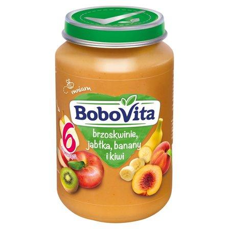 BOBOVITA Brzoskwinie jabłka banany i kiwi po 6. m-cu (1)