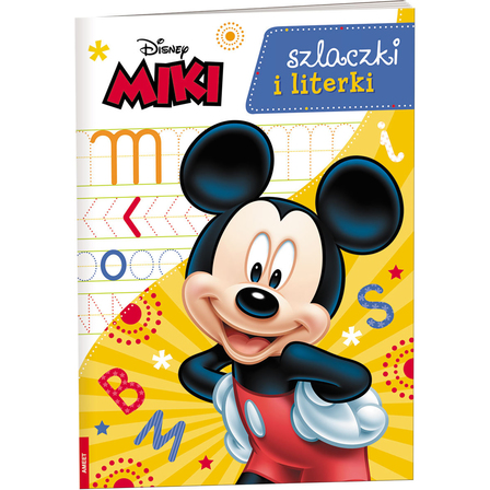 AMEET Miki. Szlaczki i literki (okładka miękka) (1)