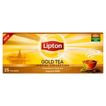 LIPTON Gold Herbata czarna (25 tb.) (2)