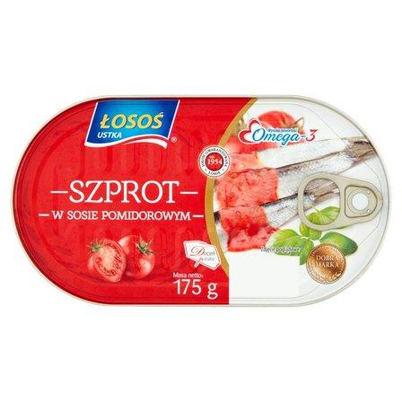 ŁOSOŚ Szprot w sosie pomidorowym (2)
