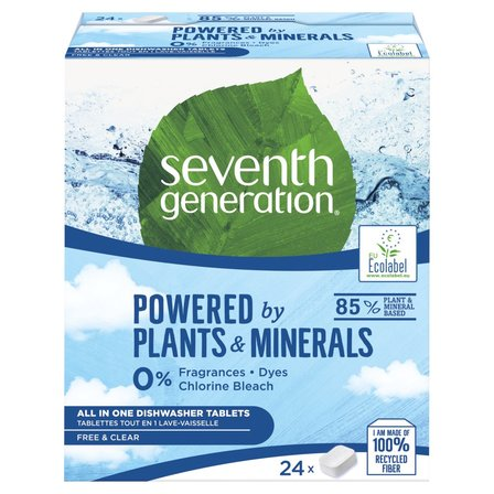SEVENTH GENERATION Ekologiczne tabletki do zmywarki Free&Clear (1)