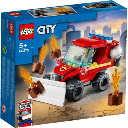 LEGO City Mały wóz strażacki, 60279 (5+) (1)
