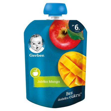 GERBER Deserek jabłko mango dla niemowląt po 6. m-cu (1)