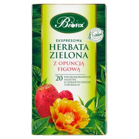 BiFIX Zielona z opuncją figową Herbata ekspresowa (20 tb.) (2)