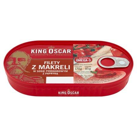 KING OSCAR Szproty w sosie pomidorowym (1)