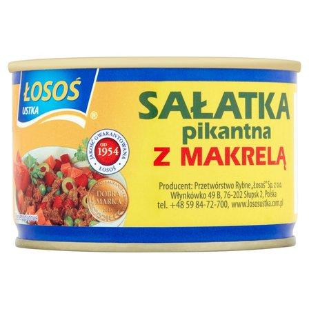ŁOSOŚ Ustka Sałatka pikantna z makrelą (2)