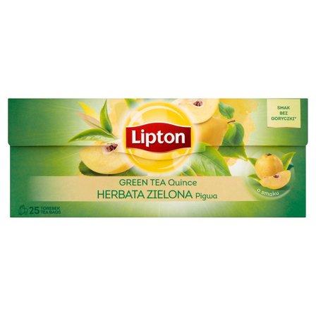 LIPTON Herbata zielona pigwa (25 tb.) (2)