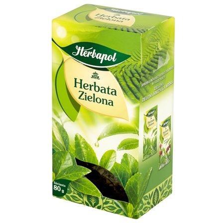 HERBAPOL Herbata zielona liściasta (1)