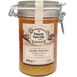 WIODĄCA MARKA Premium Miód Polski wielokwiatowy nektarowy (1)