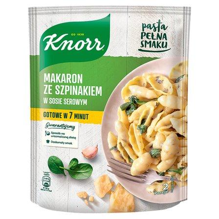 KNORR Makaron ze szpinakiem w sosie serowym (1)