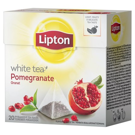LIPTON Granat Herbata biała (20 tb.) (1)