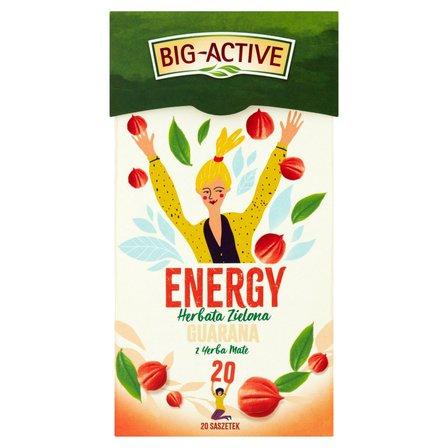 Big-Active Energy Herbata zielona guarana z yerba mate (20 tb.) (3)