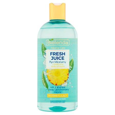 BIELENDA Fresh Juice Płyn micelarny z bioaktywną wodą cytrusową rozświetlający (1)