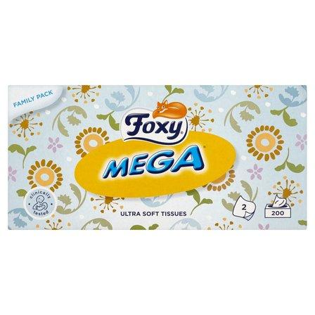 FOXY Mega Ultra miękkie chusteczki 2 warstwy (2)