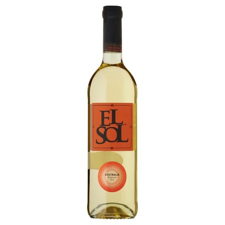 EL SOL Wino półwytrawne białe Australia (1)