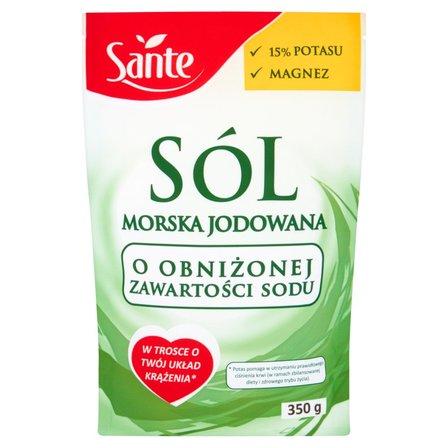 SANTE Sól morska o obniżonej zawartości sodu (1)