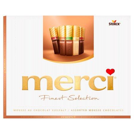 MERCI Finest Selection Kolekcja czekoladek z musem czekoladowym (1)