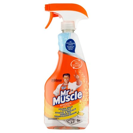 MR MUSCLE Kuchnia 5w1 Lemon Płyn w rozpylaczu do czyszczenia i dezynfekcji kuchni (1)
