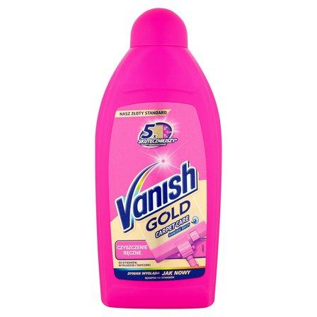 VANISH Gold Carpet Care Czyszczenie ręczne świeżość bryzy Szampon do dywanów (1)
