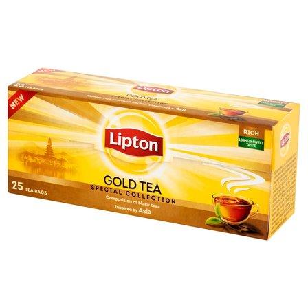 LIPTON Gold Herbata czarna (25 tb.) (1)