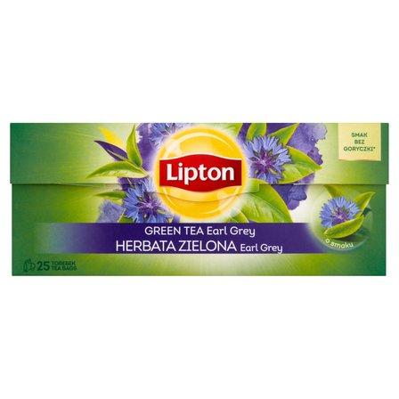 LIPTON Earl Grey Herbata zielona (25 tb.) (2)