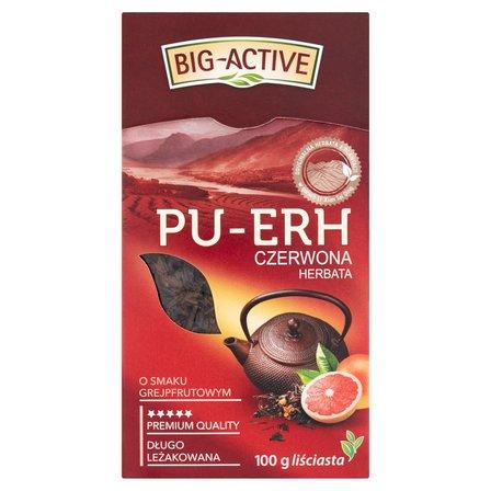 BIG-ACTIVE Pu-Erh Herbata czerwona o smaku grejpfrutowym liściasta (2)