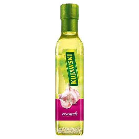 KUJAWSKI Olej rzepakowy z pierwszego tłoczenia z czosnkiem (1)