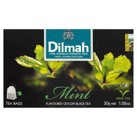 DILMAH Czarna herbata z aromatem mięty (20 tb.) (2)