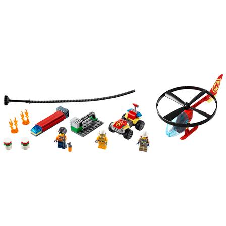 LEGO City Helikopter strażacki leci na ratunek 60248 (5+) (2)