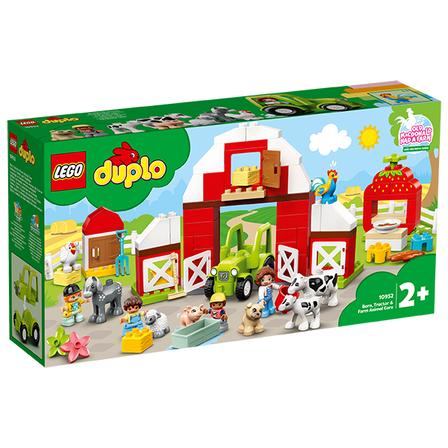 LEGO Duplo Stodoła traktor i zwierzęta gospodarskie (2+) (1)
