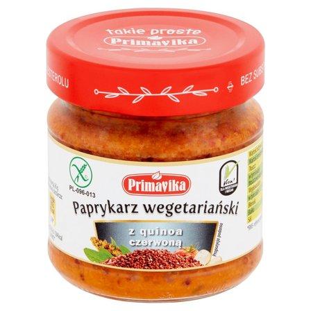 PRIMAVIKA Paprykarz wegetariański z quinoa czerwoną (1)