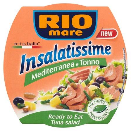 RIO MARE Insalatissime Gotowe danie z warzyw i tuńczyka (2)