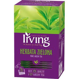 IRVING Herbata zielona (20 tb.) (1)